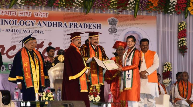 Use innovation & tech, double farmers' income: VP Naidu to NIT & IIT engineers