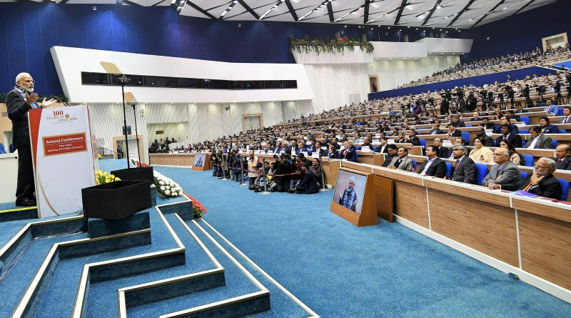 We are linking Indian economy with latest tech to speed up process of modernisation: PM Modi