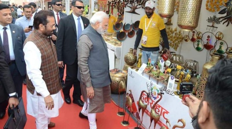 15 lakh visitors at historic Delhi Hunar Haat, next in Ranchi Minority Affairs Minister Naqvi