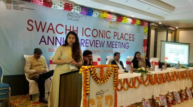 Annual Review Meet of Swachh Iconic Places held in Jharkhand