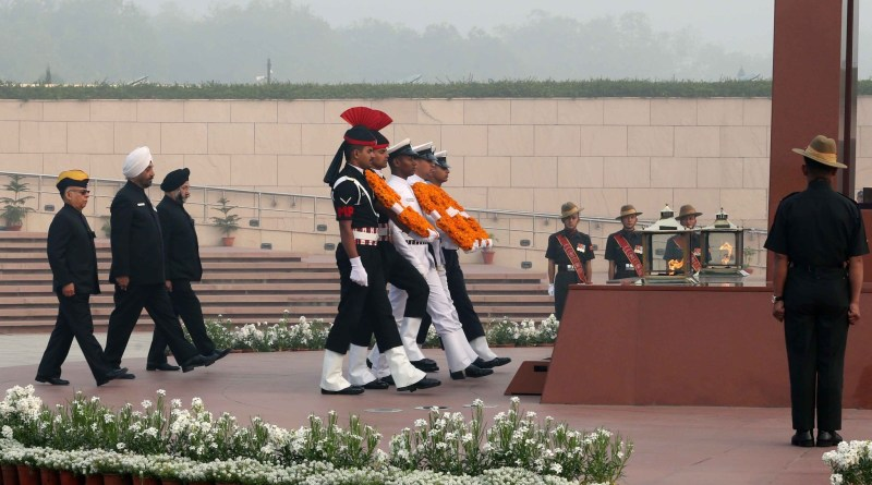 Defence Chief Gen Rawat pays homage to martyrs on 1st anniversary of War Memorial