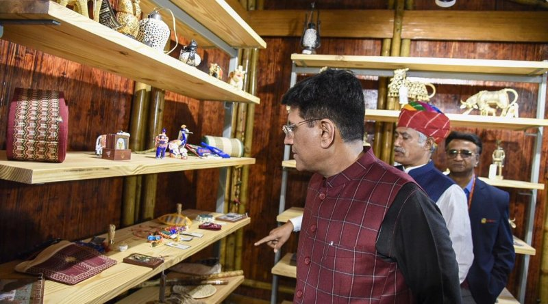 Govt keen to promote handloom, khadi, Tribes India products: Piyush Goyal at TRIFED workshop