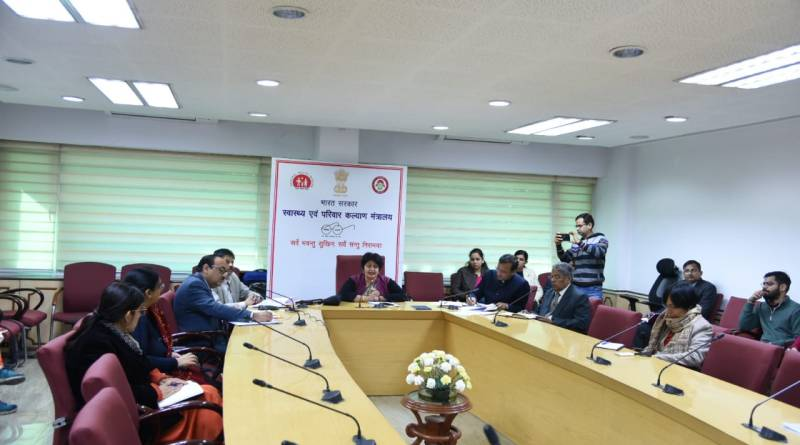 Health Secy reviews coronavirus (COVID-19) situation with ministries & depts
