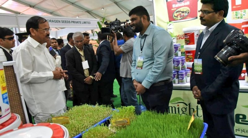 Innovate agri-tech solutions to farmers' problems: VP Naidu to scientists