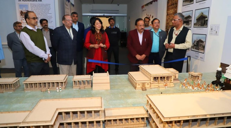 Int'l Heritage Exhibit shows true essence of Incredible India: Sci-tech Minister Harsh Vardhan