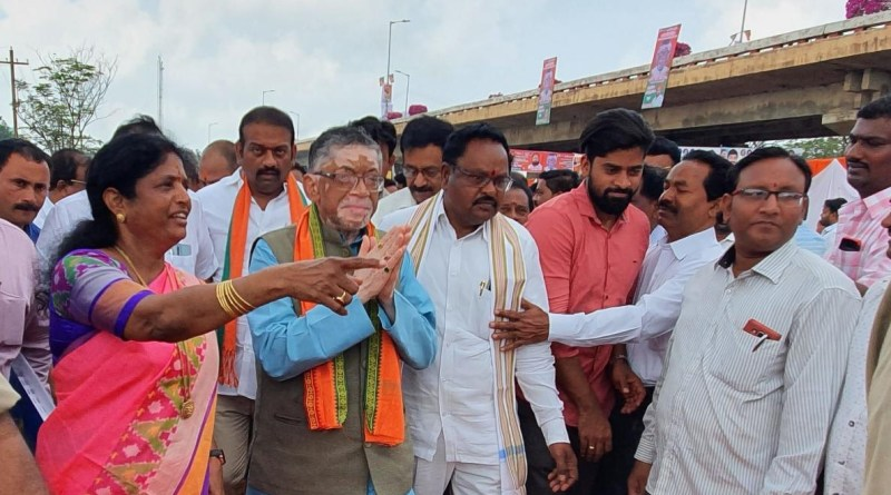 MoS Labour Gangwar lays foundation stone of 100-bed ESI hospital in Andhra
