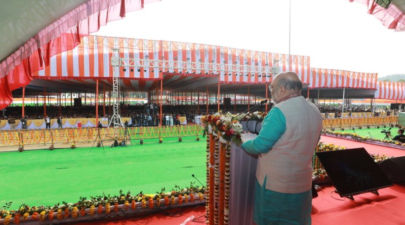 Modi Govt developed emotional connect between North East & rest of India: HM Amit Shah