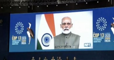 PM Modi at CMS COP13: India one of few countries compliant with Paris Agreement