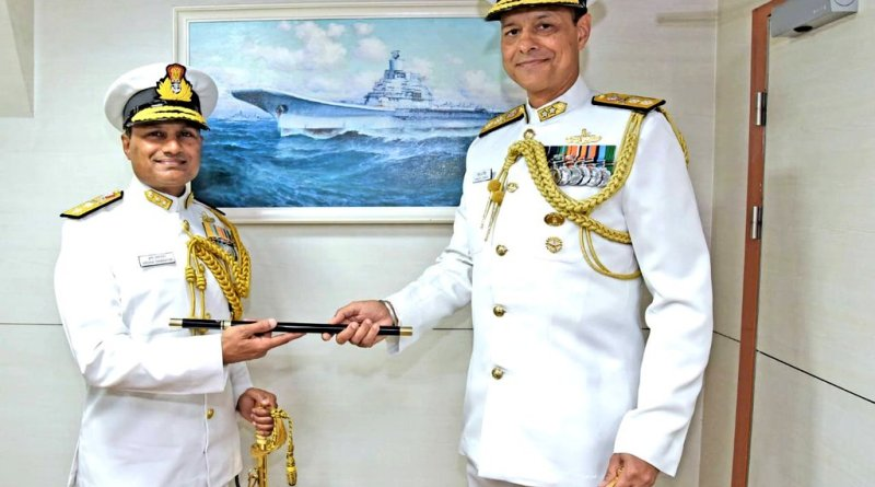 Rear Admiral Swaminathan takes over as Flag Officer Commanding Western Fleet, Indian Navy