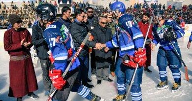Sports Minister Rijiju inaugurates first Khelo India Winter Games in Ladakh