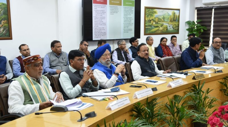 Coronavirus: Health, Aviation, Home Ministers review COVID-19 in India