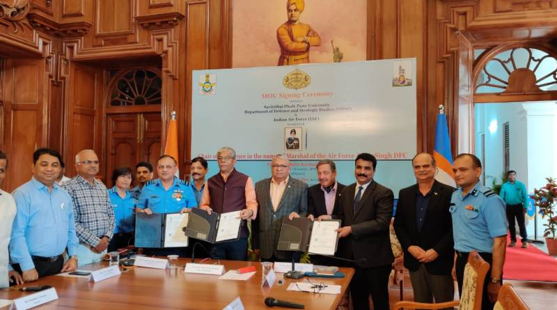 IAF, Pune Univ (SPPU) partner on defence & strategic studies