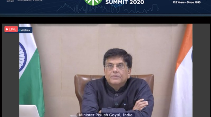 Minister Goyal on Ind-Aus trade relations at CII