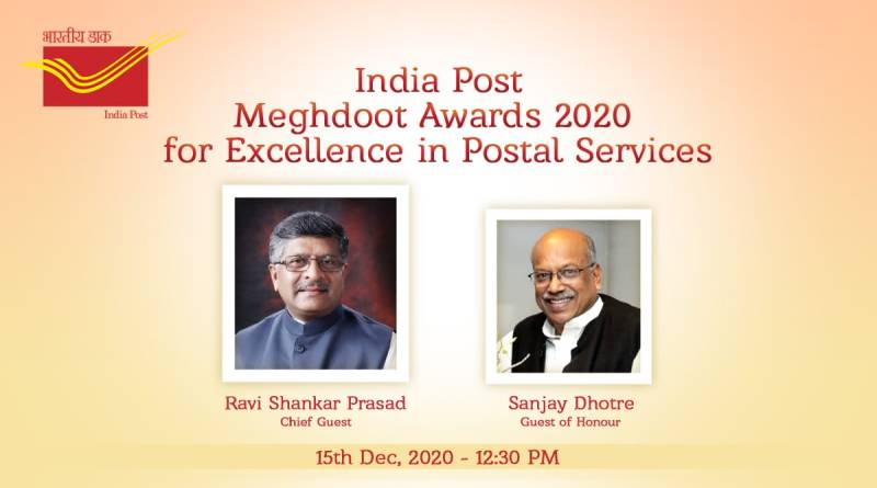Ravi Shankar Prasad, Sanjay Dhotre attend India Post Meghdoot Awards, DakPay app launch
