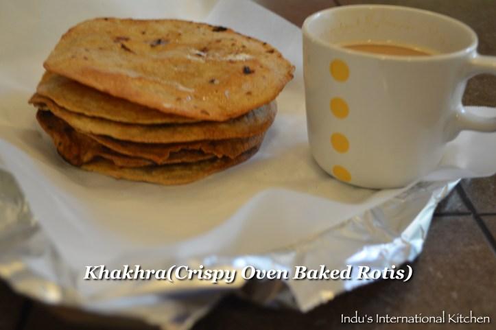 Baked crispy chapatis