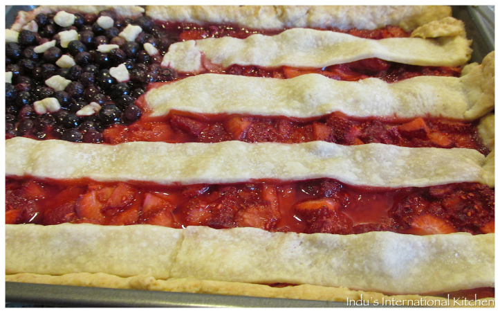 berry tart(4th July Special)