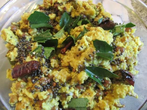 Kootu curry (Kadala)