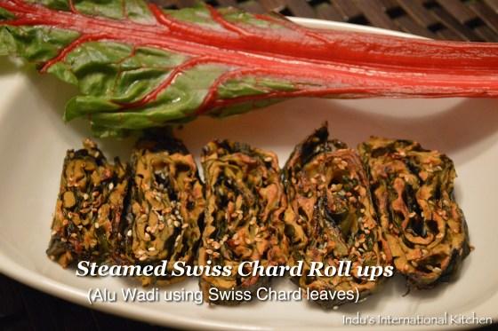 Alu wadi using swiss chard leaves
