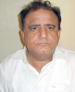 Badah; Candidate PS 41 Faiz Muhamd Khokhar Pic Badah 05-04-2013