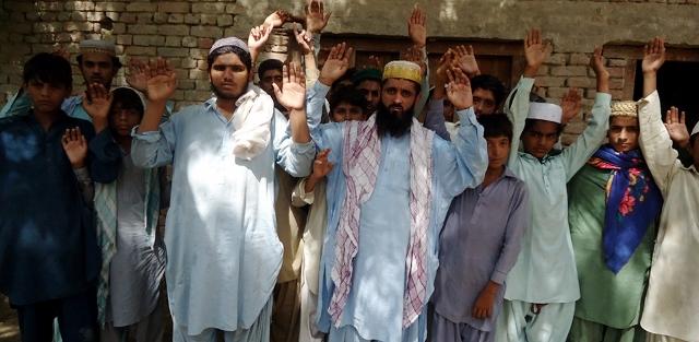 Badah; Ghulam Umar Unar Je Qatal Je Garftre laie Muzharo Pic 09-07-2014 (640x313)