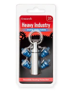 Crescendo Industri 25 ørepropper søkbare
