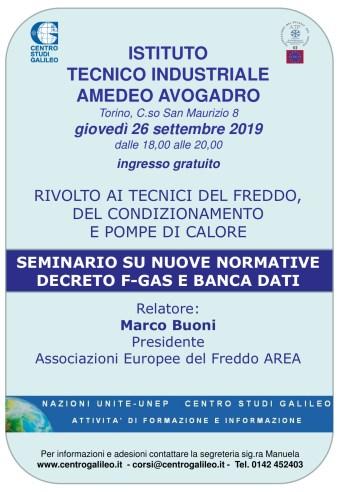 Locandina seminario Avogadro