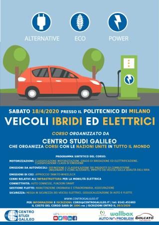 Locandina corso Auto Elettriche