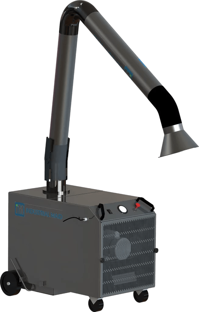 portable fume extractors and collectors