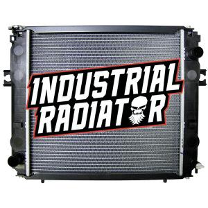 Komatsu Forklift Radiator - 18 x 17 x 1 7/8