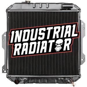 Nissan Forklift Radiator - 16 3/4 x 18 1/4 x 2 3/8