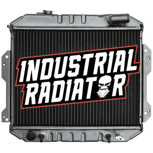 Nissan Forklift Radiator - 14 1/2 x 19 1/4 x 1 3/4