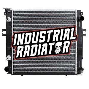 MCFA/Mitsubishi Forklift Radiator - 17 5/8 x 17 1/2 x 1 7/8 (U Fin Core)