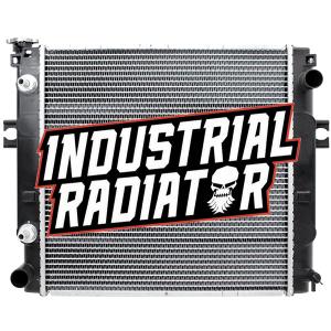 Nissan/MCFA/Mitsubishi/Cat Forklift Radiator - 17 5/8 x 17 5/8 x 1 7/8
