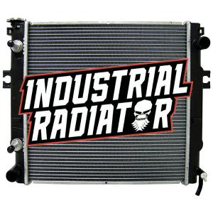 Nissan Forklift Radiator - 17 3/4 x 17 3/4 x 1 3/8