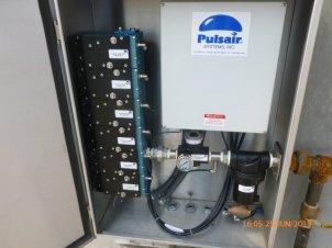 pulse air valve cabinet