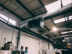 14 CECx destratification fans were installed at height to maintain even air distribution