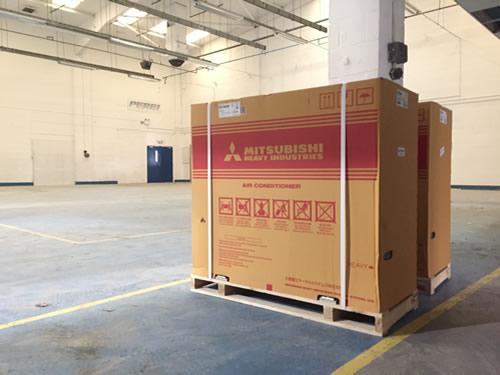 Mitsubishi air conditioning installation Hampshire