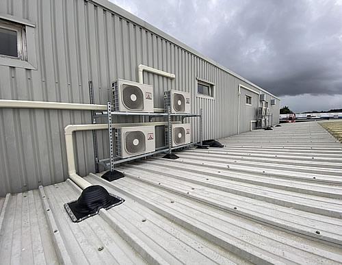 Mitsubishi invertors - air conditioning install Dorset
