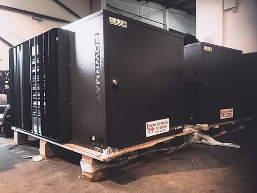Powrmatic heater installation