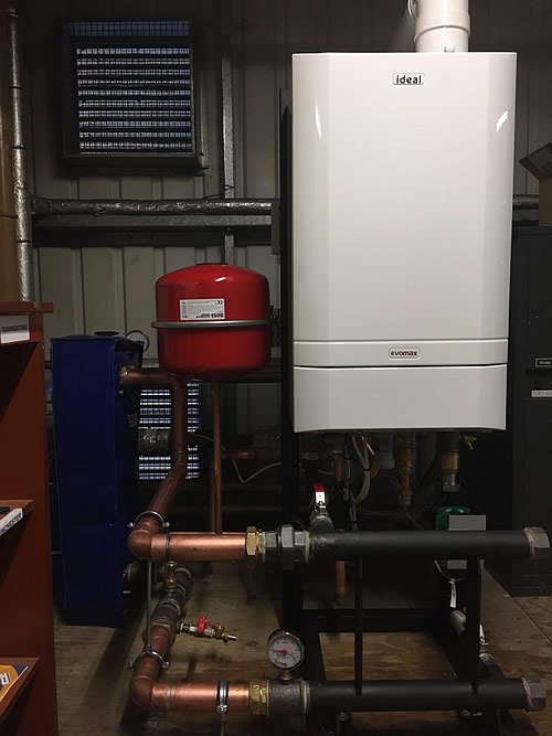 Gas (Natural and LPG) and Oil Fired Boiler - Ideal