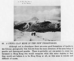 Kaolin Mine Hong Kong-New Territories-China Clay Mine-early 1950s