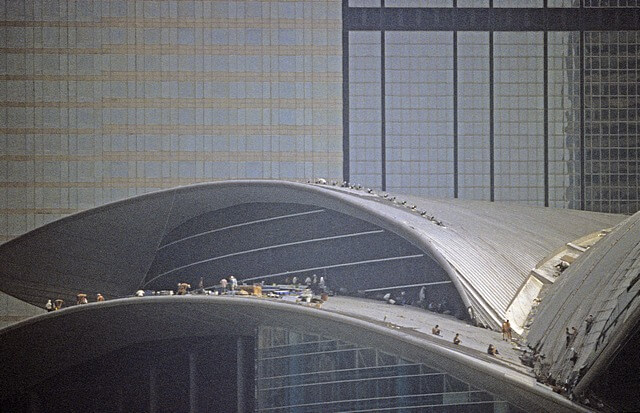 Hong Kong-Wanchai-Convention & Exhibition Centre-024-Roof Construction-1997