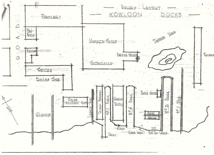 Kowloon Dockyard BAAG sketch