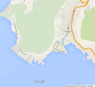 Tsing Shan (Castle Peak) mine Google Map