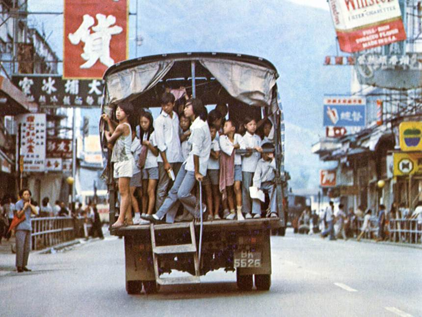 Lorry Bus-New Territories-Village bus-1970s, IDJ