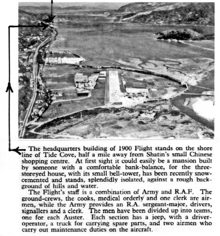 Shatin -RAF Shatin HQ -plus caption-1960 IDJ