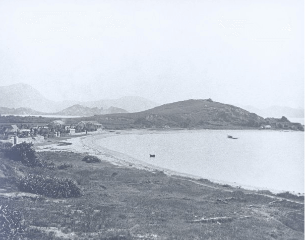 Tsim Sha Tsui Bay 1870 showing Blackhead Point