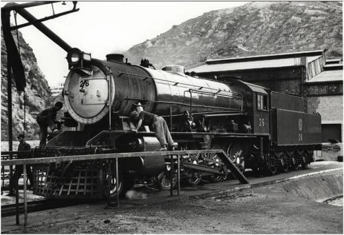 1965 Austerity 2-8-0 Locomotive Apr 1965