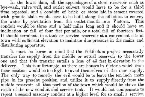 Surveyor General's Report on the Tytam Water-works 1885 m