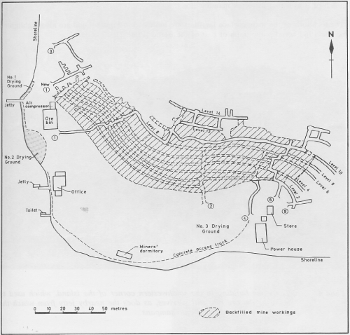 1964 Extent Of Mine Workings